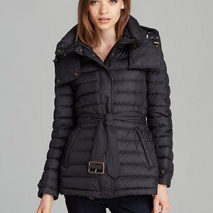Burberry Brit down fur jacket. Size xs